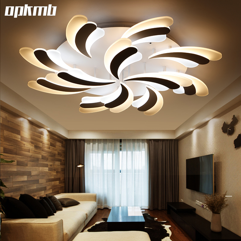 Modern living room ceiling light  Acrylic ceiling lamps  remote dimming  bedroom home indoor lighting vemma acrylic minimalist modern led ceiling lamps kitchen bathroom bedroom balcony corridor lamp lighting study