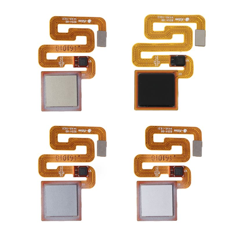 High quality Ribbon Flex Cable Fingerprint Sensor Home Return Key Menu Button Tail Wire Replacement for Xiaomi Redmi 3 3S 3X 4X