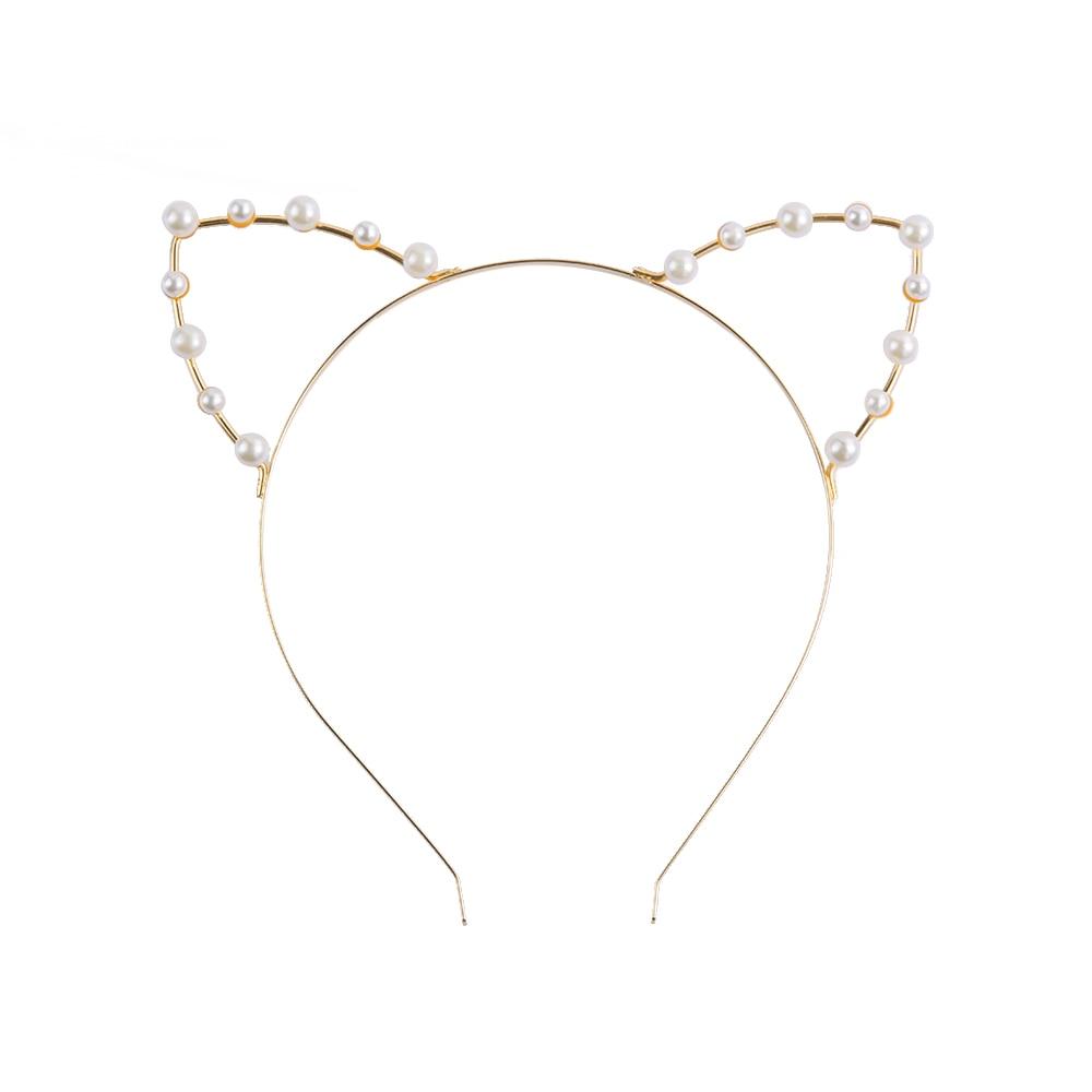 1 Pcs Cute Women Girls Cat Ears Headband Accessories Styling Tools Hair Braider Styling Hair Band Utensilios Para El Pelo Braiders