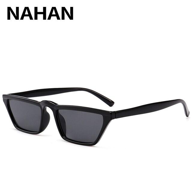 012b2ab3bf40d 2018 Novos Mini Tamanho Pequeno Quadrado Olho de Gato Óculos de Sol  Proteção UV400 Homens