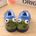 2016 Little kids 1-4 years  Autumn and winter Cute cartoon small frog baby soft bottom children 's cotton indoor  shoes