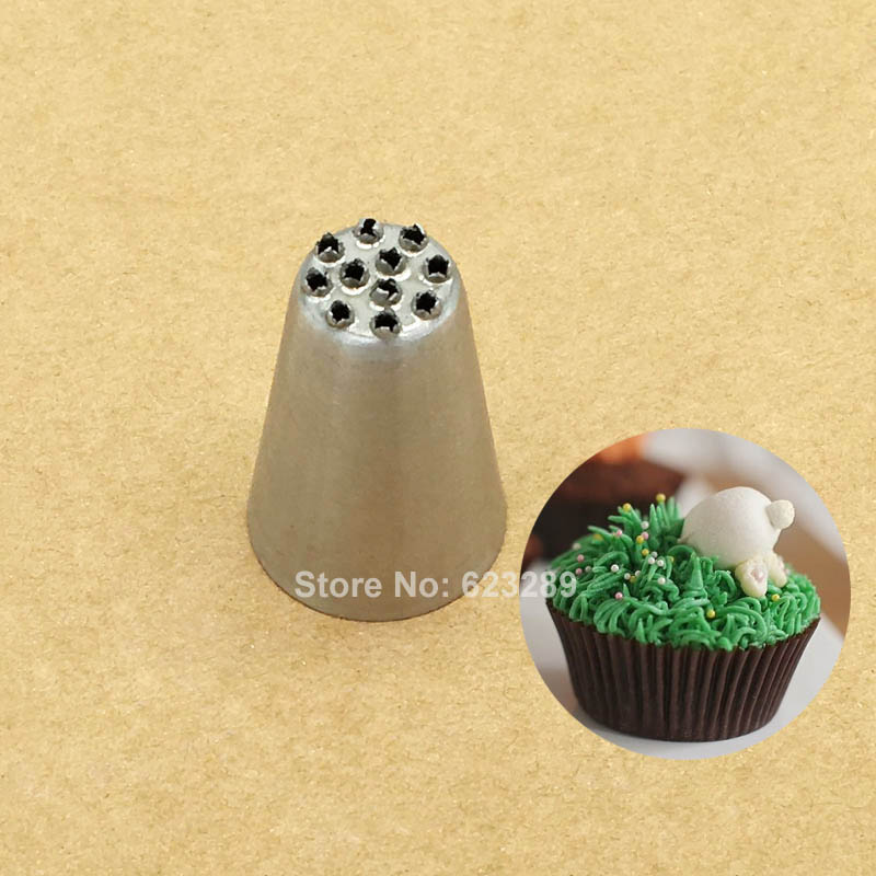 Multi-Opening Tips Nozzles Decorating For Grass, Icing Nozzle Cupcake Decoration Tips Baking Tools