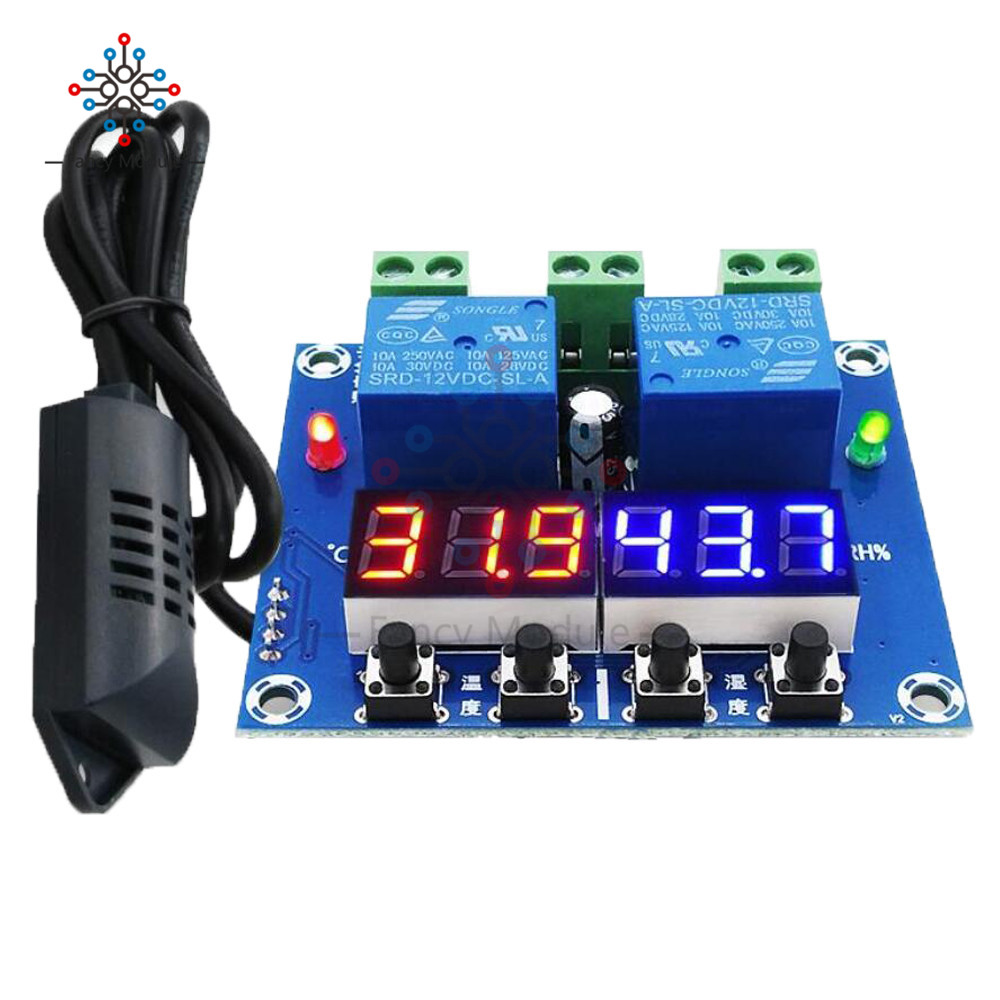 XH-M452 Thermostat Temperatur Thermometer Hygrometer Controller Modul DC 12 v LED Digital Display Dual Ausgang