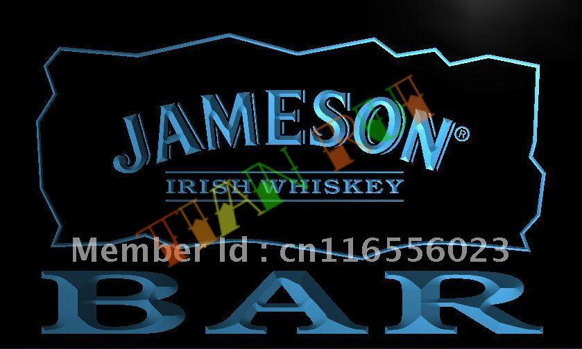 Aliexpress.com : Buy LA696 BAR Jameson Irish Whiskey LED