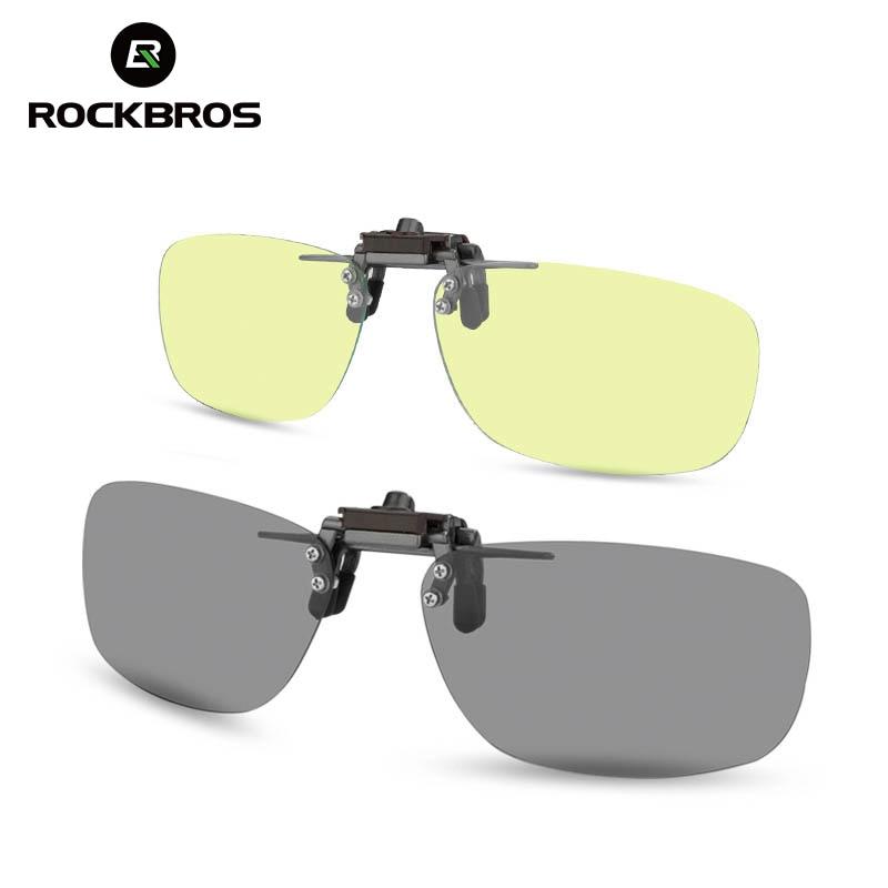 Rockbros Polarisierte Radfahren Brillen Clips Sport Laufsport Angeln Wandern Brillen Für Mtb Mountain Road Bike Fahrrad Gläser Clips