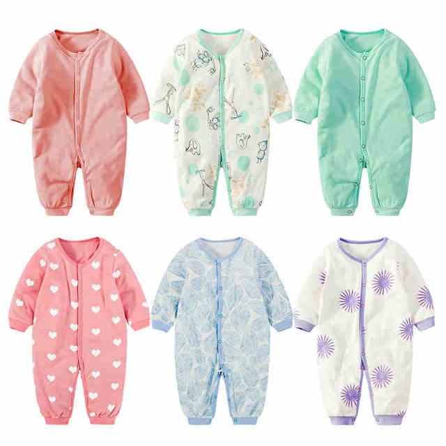 0cd13e75d702 Baby clothing clothes 6 4 newborn 5 thermal thickening sleepwear ...