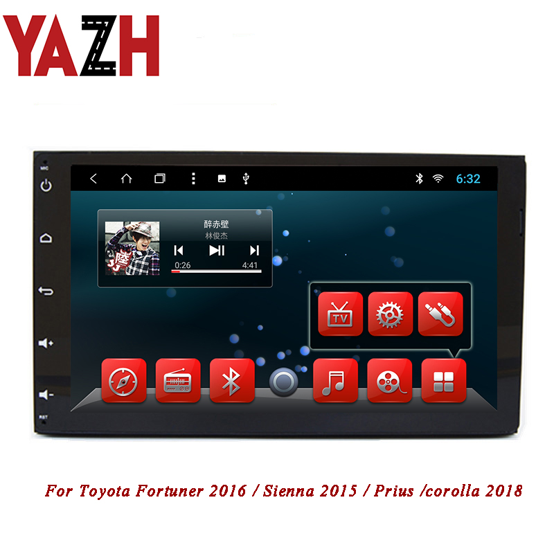 Full Touch In Dash Stereo for Toyota Sienna 2015 Support GPS Radio Bluetooth WIFI TV 3G iPod Android 4.4 Quad Core System briefcase