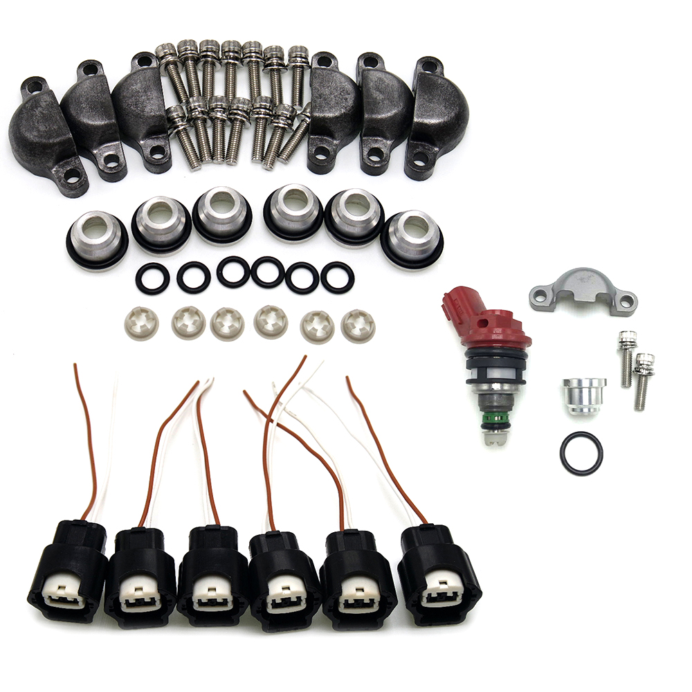 car accessories high performance Fuel Injector adapter Kits for 90-93 300ZX Phase 1 2 VG30DE VG30DETT Turbo Z32
