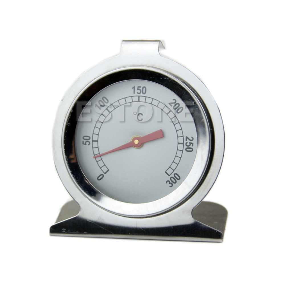 Klasik Stand Up Daging Makanan Dial Oven Thermometer Suhu Gauge Fryer BBQ Barbekyu
