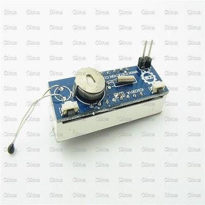 Автомобиль светодиодный цифровые часы трубки Напряжение детектор Температура модуль обнаружения