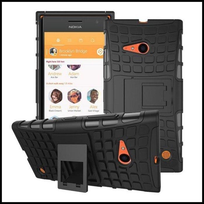 Para microsoft lumia 730 cubierta de silicona carcasa del teléfono monedero acce