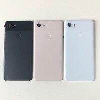 Original M&Sen For 6.3 HTC Google Pixel 3XL GLASS Back Battery Cover Case Housing For Google Pixel 3 XL Rear Door Housing