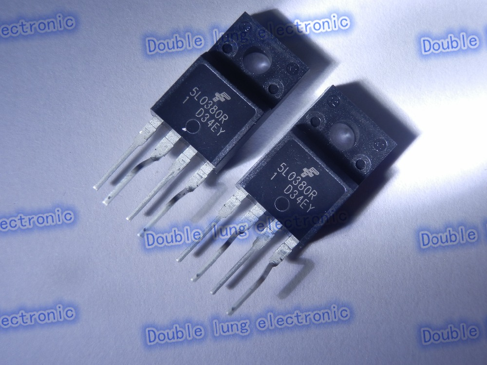 10PCS/lot KA5L0380RYDTU KA5L0380R 5L0380R IC FPS PWR SWITCH SMPS TO-220F-4