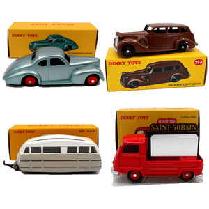 1:43 Atlas Dinky Toys 24O Studebaker Coupe 811 Caravane 39A Packard 564 563 Miroitier Estafette Renault Diecast Toys Car Models(China)