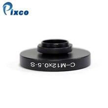 Pixco Adattatori per Obiettivi Fotografici Vestito Per CS o per C Mount Lens per per M12