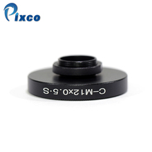 Pixco Lens Adapter Suit For CS or for C Mount Lens to for M12