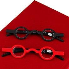 65963e329 أفضل نظارات للقراءة للرجال سيدات مد البصر الرجعية النظارات إطار صغير خمر  المكبر نظارات + 1.50 + 2.00 + 2.50