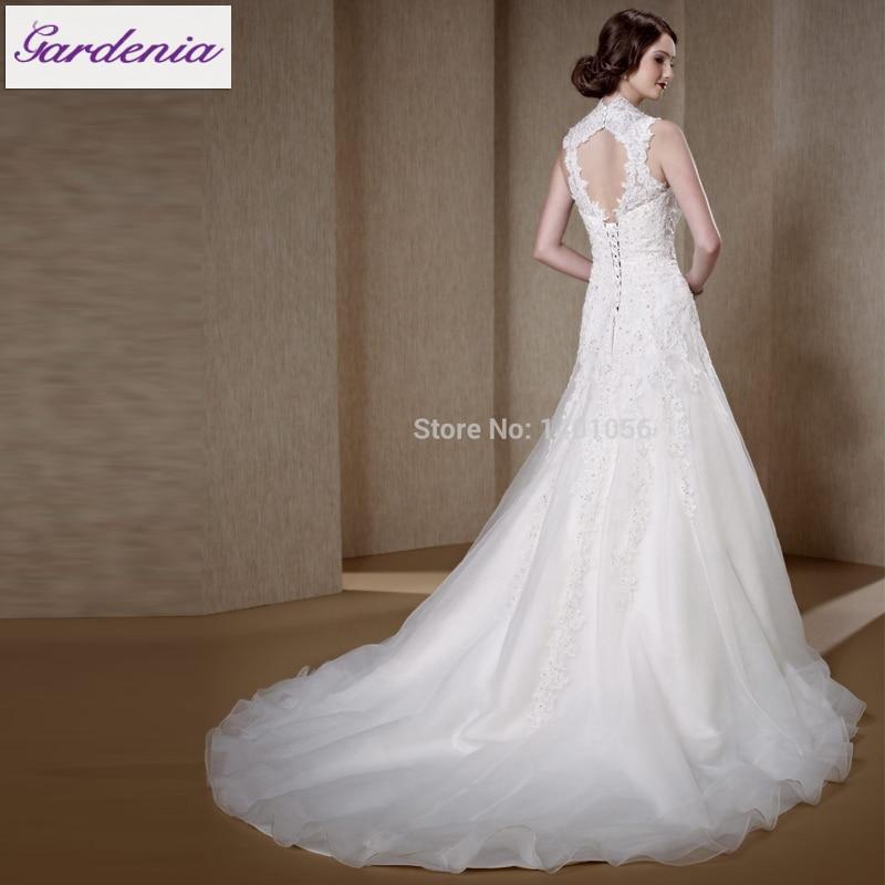 Bohemian Beach Wedding Dress with lace Up Back Meerjungfrau ...