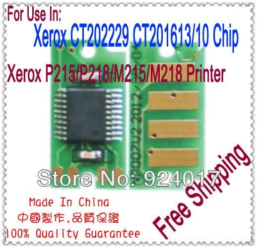 Toner Chip For Xerox DocuPrint P215 P218 M215 M218 Printer,For Xerox P M 215 218 CT202229 CT201613 CT201610 Printer Toner Chip