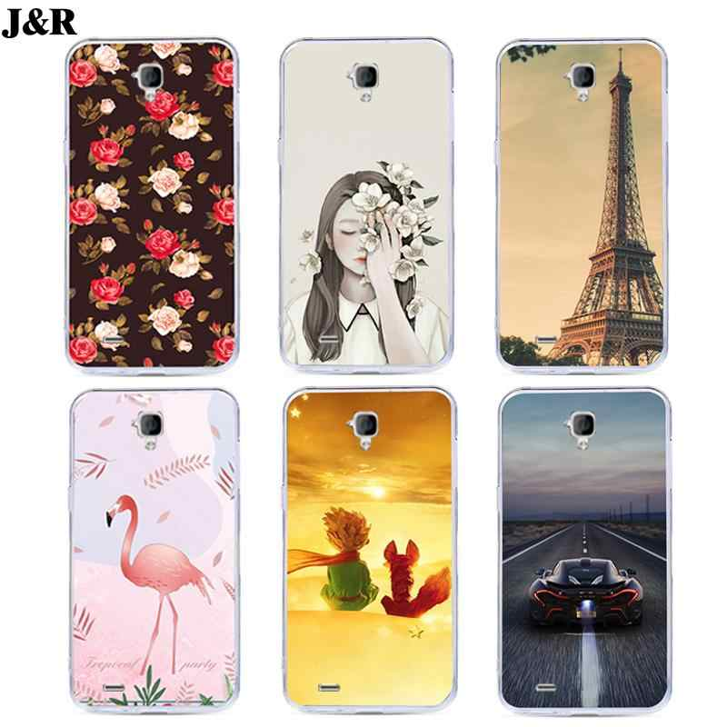 J&R Floral Phone Cover For Huawei Y560 Y 560 Y5 Y560-L01 Silicone Soft Case For Huawei Y560 Cases Protective Colorful Printing