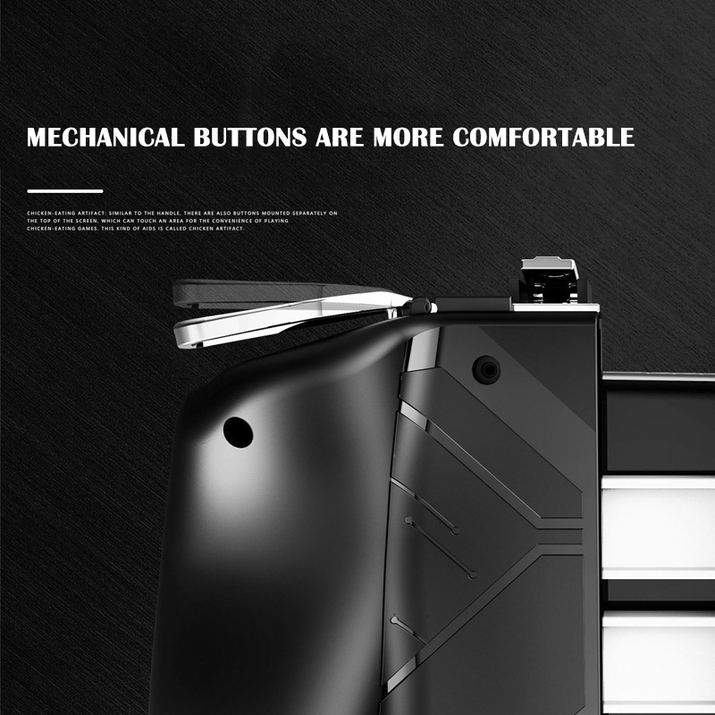 Image 5 - AK16 Metal Smart Phone Mobile Gaming Trigger For PUBG Controller Gamepad  L1R1 Button Aim Shooter Joystick Game Pad-in Gamepads from Consumer Electronics