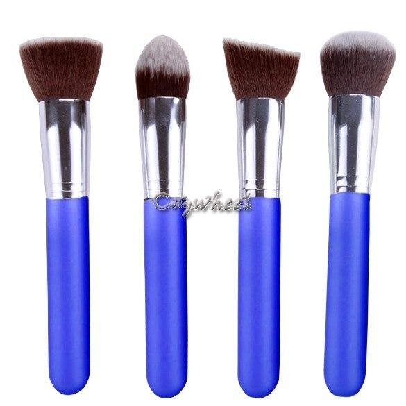 Grande remise! Esthétique du visage Make up Brush Kit laine pinceaux de maquillage outils Set cuir noir pinceaux 36