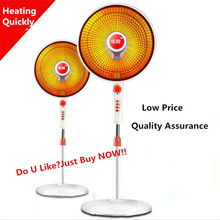 220V 900W Low Price Floor Large Size Electric Heater With Adjustable Height Electric Fan Heater Electric Warmer Household Office