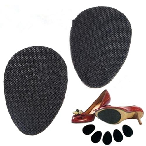 Fashion Boutique 1 Pairs Anti-slip Shoes Heel Sole Grip Protector Pads Non-slip Cushion Adhesive black стоимость