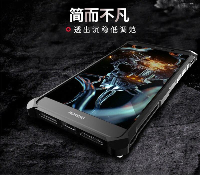 imágenes para Caso Para Huawei Mate 9 de Aleación de Aluminio de Metal A Prueba de Choques Anti-Golpe parachoques de Lujo Del Teléfono Caso de la Cubierta Para Huawei Mate 9 Mate9 Shell