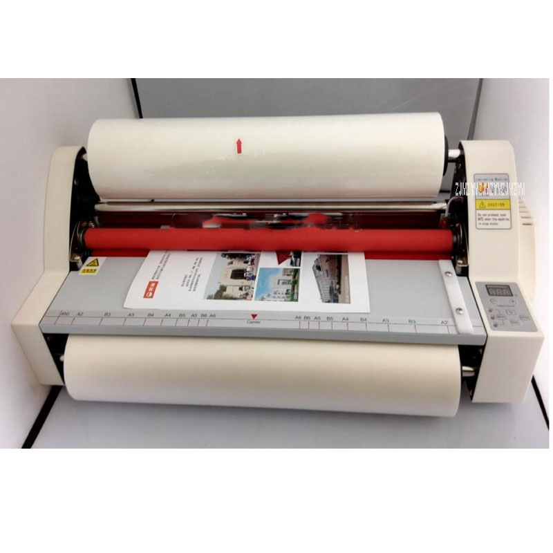"""17,5 """"v480 Papier Laminieren Maschine, Studenten Karte, Arbeiter Karte, Büro Datei Laminator.100 % Garantierte Foto Laminator 0,1-5mm Film Schnelle WäRmeableitung"""