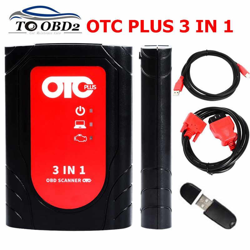 OTC Plus 3 in 1 GTS TIS3 OTC Scanner IT3 For Toyoya OTC Plus Nissan Volvo