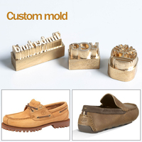 Zonesun Customize Brand Logo Design With Foil Paper Brass Stamp Mold For Shoes Leather