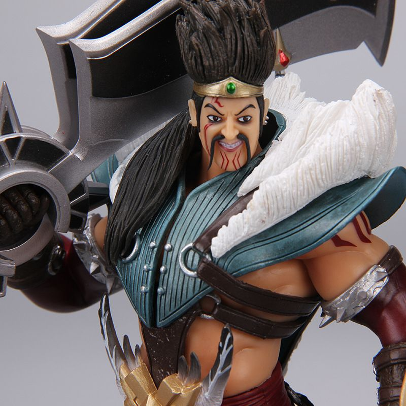 Hot Action Draven LOL Game Veigar Tristana Kennen PVC Collection Hobby Movable Model Doll Best Gift Cosplay Toy Free Shipping lol draven shuriken handspinner edc rotatable darts weapons model christmas gift de levin s hand spinner top game toys gift ow