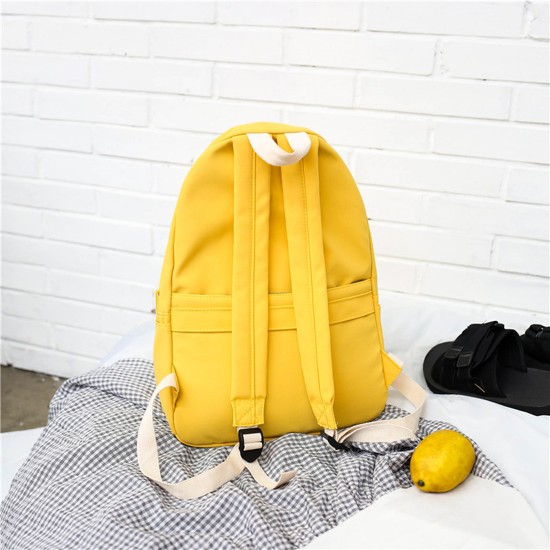 77df6684818e US $19.71 |OLN Sunflower embroidery Women Backpack Lovely girl School  Backpacks For Teenagers Female Nylon waterproof Bookbag Mochilas-in  Backpacks ...