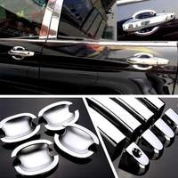 עבור הונדה crv crv באיכות גבוהה עבור ידית הדלת הצדדית הונדה CRV 2007-2011 ABS רכב סטיילינג Chrome כיסוי ודלת Bowl Cover (1)