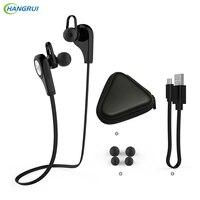 HANGRUI Q9 Wireless Headphones Bluetooth Earphone V4 1 Sports Headset Stereo Handsfree Headphones For Iphone Xiaomi