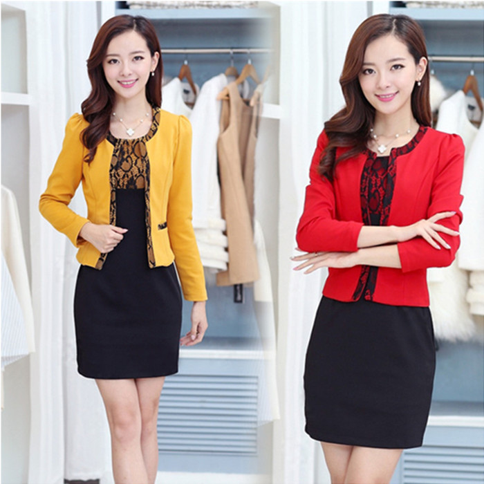 M-3XL-Free-Shipping-Spring-or-Fall-New-Two-piece-Dress-Long-Section-Large-Yard-Women (2)
