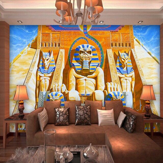 Nach Wandbild Tapete 3D Klassische Kunst Ölgemälde Alte Ägyptischen ...