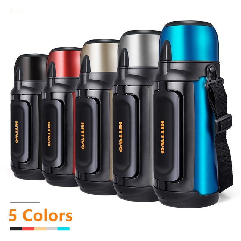 304 In Acciaio Inox coibentato Thermos 1.5L, 1.8L vuoto Termo tazza Tazze di Caffè di Viaggi Termico tazza Termica bottiglia di acqua