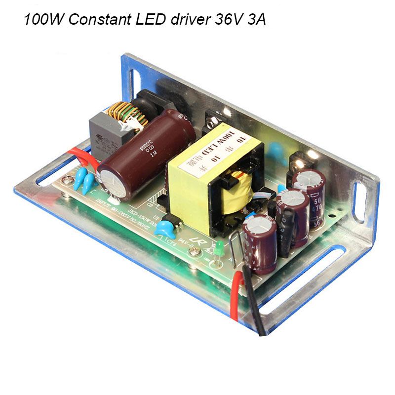 Projector 100W Constant Current LED High Driver Light Lamp Power Supply 36V 3A High Quality diy