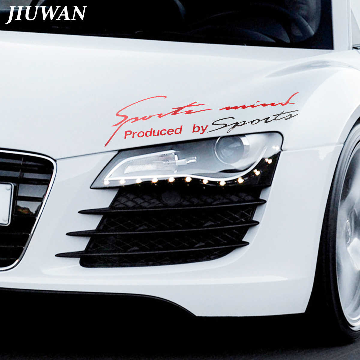 Jiuwan 3511cm car styling sport style sticker auto vinyl reflective decal custom word decoration