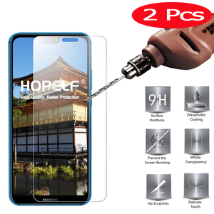 2 Pieces Tempered Glass for Huawei P20 Lite Safety Glass on for P20 Light Protective Glass for Huawei P20 Pro Screen Protector(China)