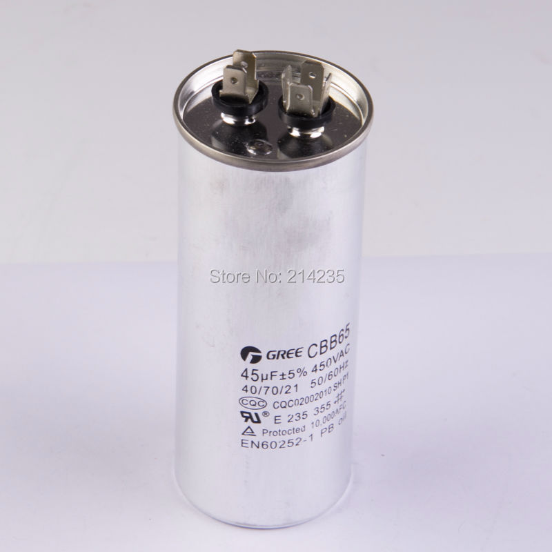 все цены на CBB65 45uf air conditioning capacitor explosion proof compressor start capacitor refrigerator freezer replacement spare parts онлайн