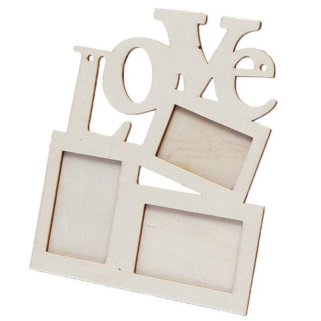 Amor diseño madera Marcos DIY imagen Marcos s arte inicio escritorio ...