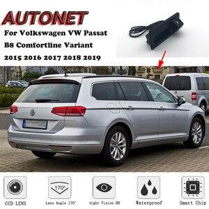 Автомобильная камера с ручкой багажника для Volkswagen VW Passat B8 Comfortline Variant 2015 2016 2017 2018 2019 запасная камера заднего вида