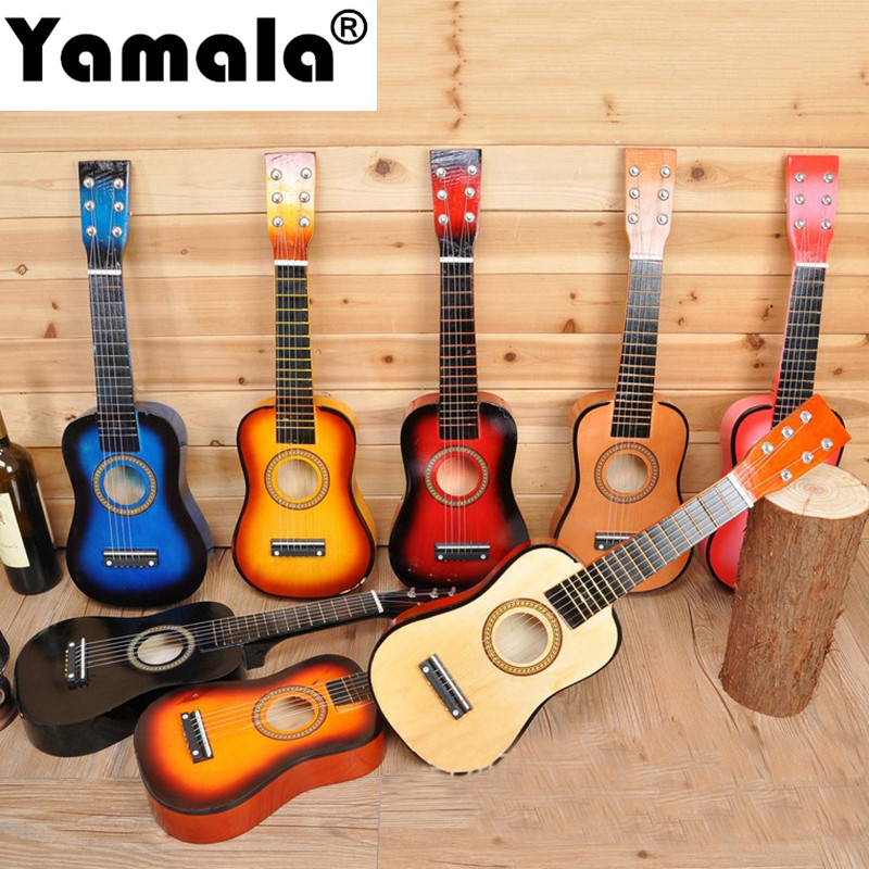 Bainily Children Baby Musical Instruments Toy Wood Guitar