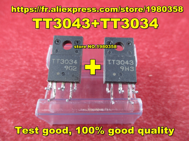 TT3043 1PCS+TT3034 +1PCS Test Good, 100% Good Quality