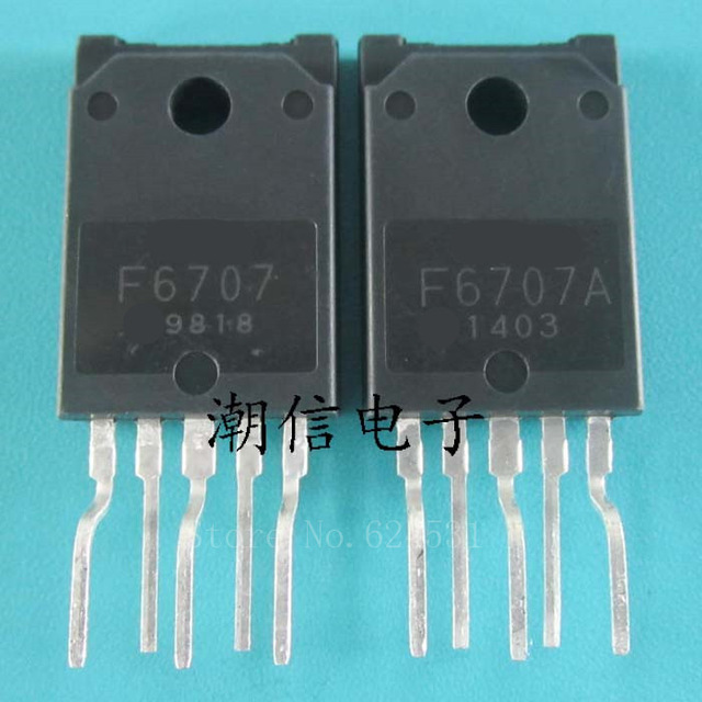 2pcs/lot STR-F6707A TO-3P F6707A ZIP-5 STRF6707 F6707 TO-220F In Stock