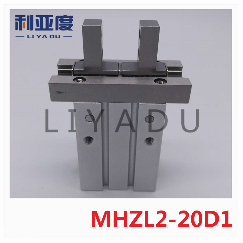 купить MHZL2-20D1 long stroke parallel open closed type gas claw SMC finger cylinder side screw installation MHZL2 20D1 Fixture в интернет-магазине
