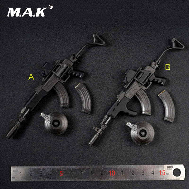 ZY15-23 1/6 Scale MP7A1 Gun Weapon Model Fit 12 Soldier Action Figure Dolls Accessories Collections 1 6 scale metal color cheytac intervention m 200 sniper rifle weapon model toys zy15 11 for 12 action figure accessories